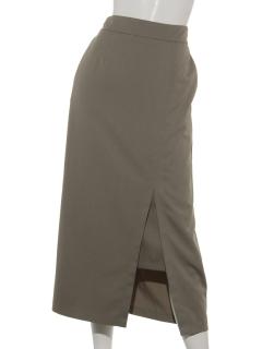ロングスリットIラインスカート