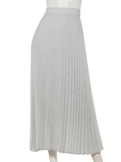 A-ラメプリーツスカート