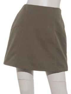 切り替え台形ミニスカート
