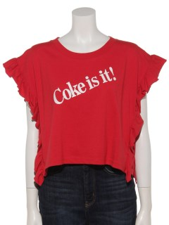 a-COCACOLAワイドフリルTee