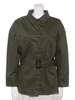 ツイルベルトセットジャケット