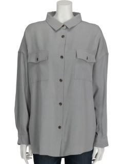 WポケットチュニックBIGシャツ