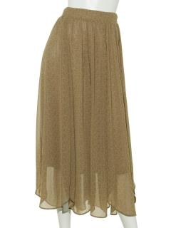小花裾ラウンドスカート