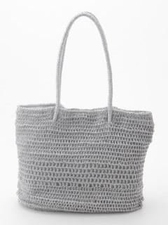 メッシュ編みショルダー