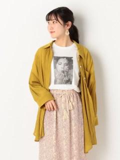 楊柳クレープシャツ