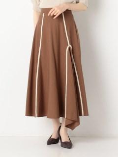 リネンパイピングスカート