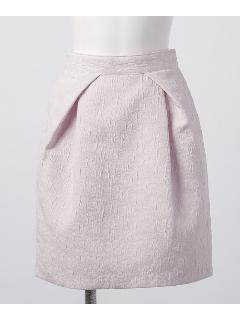 花ジャガードコクーンスカート