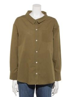 綿麻シャンブレーシャツ