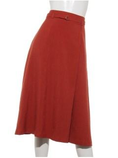 細リボンラップ風スカート