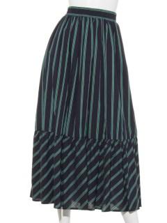 レジメストライプスカート