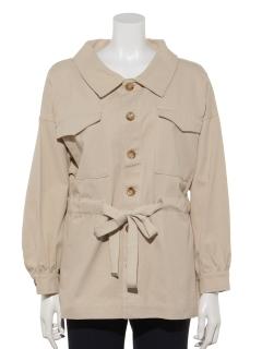 ウエストリボンツイルジャケット
