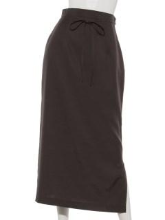 サイドスリットロングタイトスカート
