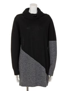 コンビ色セーター