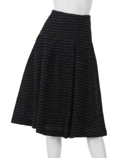抄織糸ファンシーツイードスカート