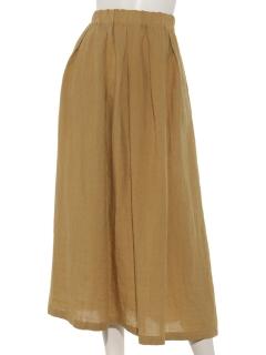 【HONEYCHURCH】ベルギーリネンスカート
