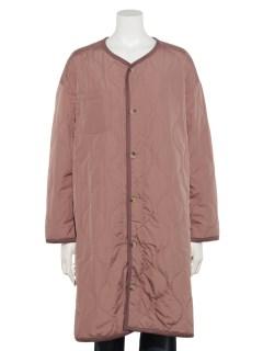 【HONEY CHURCH】キルティング丸首コート