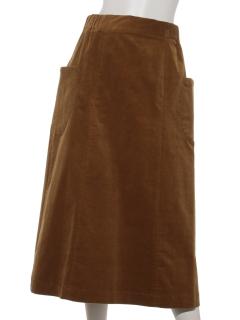 【HONEY CHURCH】21ウェルコーデュロイストレッチ丸ポケスカート