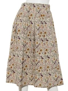 【HONEY CHURCH】綿麻シーチングタックスカート