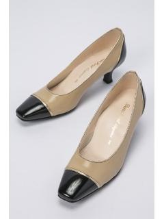 【BeauFort elegance】2Eカラーコンビパンプス
