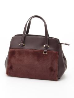 BELLY BAND fur boston bag