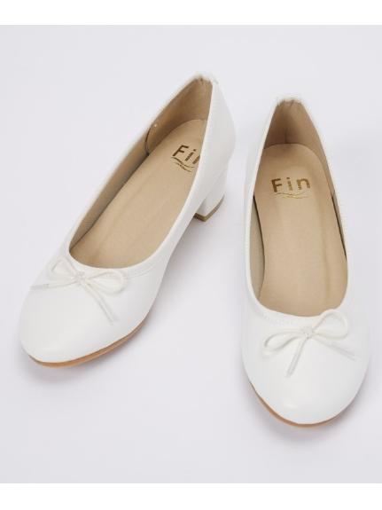 Fin (フィン) バレエパンプス アイボリー