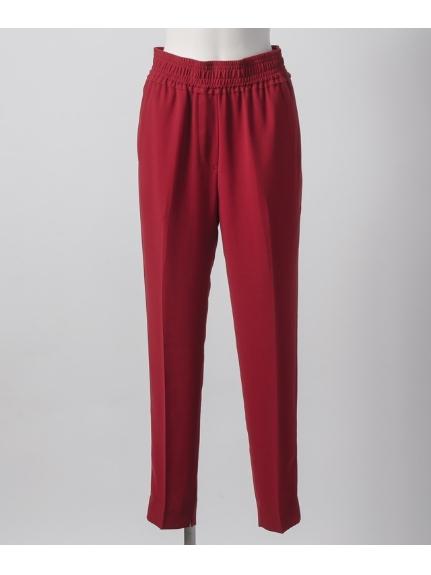 tinkskrow (ティンクスクロウ) ジョーゼットパンツ RED