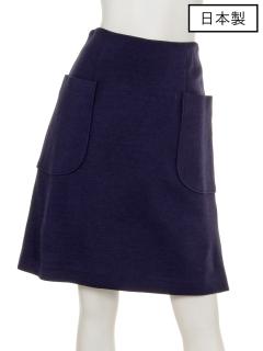 【日本製】アウトポケットタイトスカート