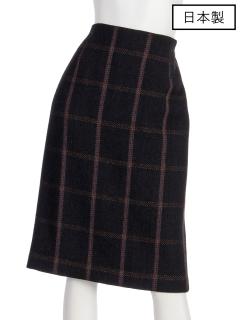 【日本製】インポートロービングチェックタイトスカート