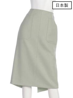 【日本製】バックテールタイトスカート