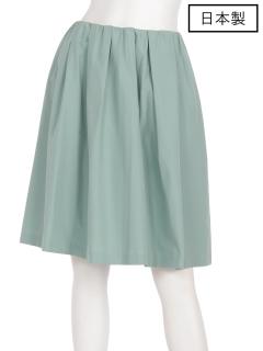 【日本製】タックギャザースカート