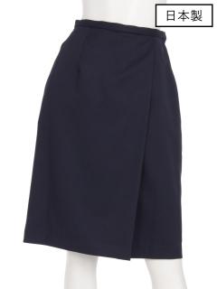 【日本製】ラップ風タイトスカート