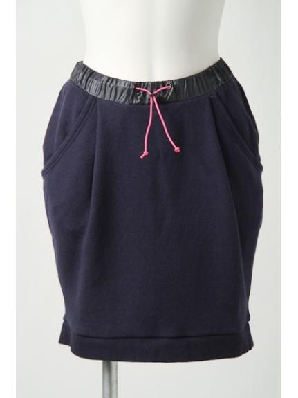 MAX ALLUMER (アリュメール) バルーンシルエットスウェットスカート ネイビー