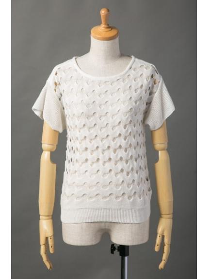 7-ID concept (セブンアイディーコンセプト) セーター ホワイト