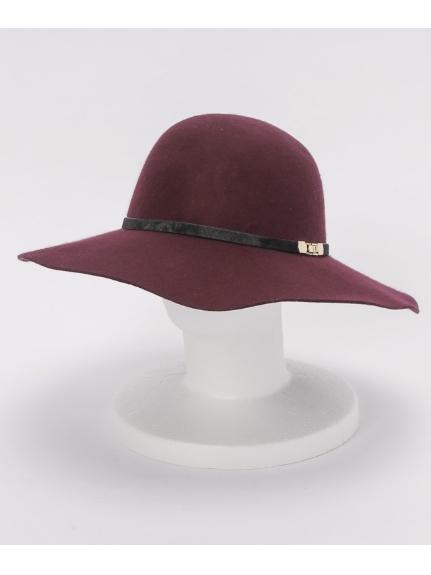 CLEAR IMPRESSION (クリアインプレッション) 帽子 ボルドー