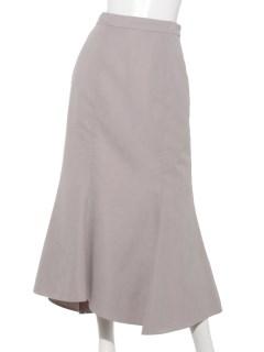 スエードタッチマーメイドスカート