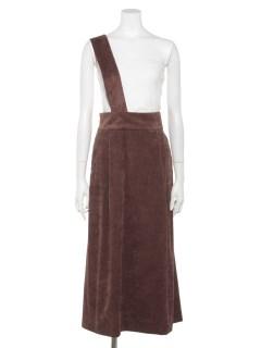 【musee】ワンショルダー2WAYスカート
