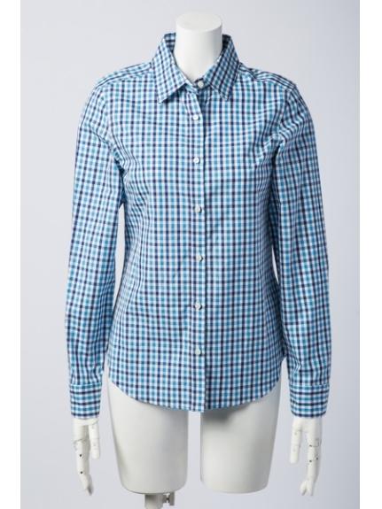 ef-de (エフデ) シャツ ブルー