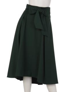 フロントリボンハイアンドロースカート