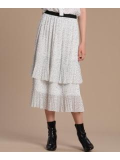 クリスタルプリーツスカート