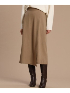 ウールジャージースカート