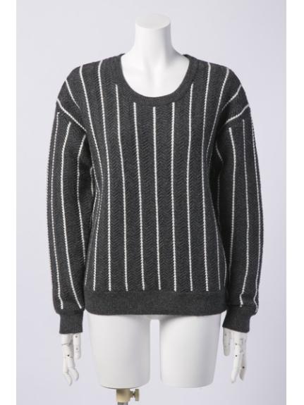 INED (イネド) セーター チャコールグレー