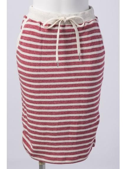 LE SOUK (ルスーク) CUTスカート チェリーピンク