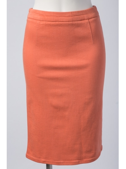 MAX LE SOUK (ルスーク) ショートスカート オレンジ