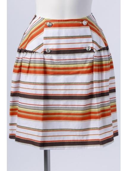 Maglie par ef-de (マーリエパーエフデ) ショートスカート オレンジ