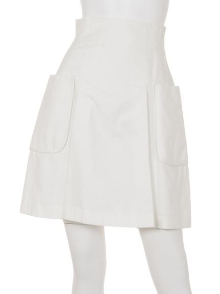 Maglie par ef-de (マーリエパーエフデ) スカート オフホワイト