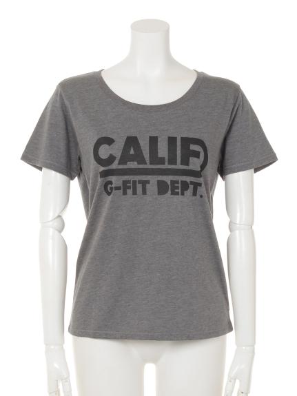 G-FIT (ジーフィット) ベーシックTシャツ グレー