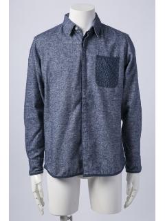 ブラッシュドシャツ