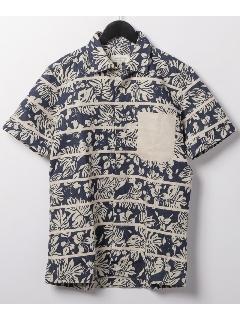 テープポイント半袖シャツ
