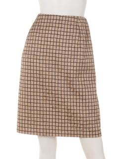 格子JQタイトスカート