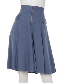 フロントジップスカート